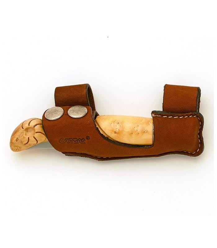 tui berger en cuir pour la ceinture. Black Bedroom Furniture Sets. Home Design Ideas